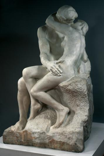O Beijo - escultura em Mármore  August Rodin